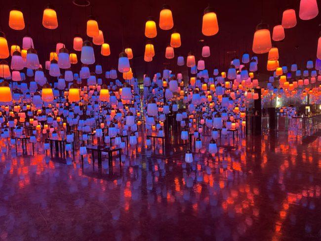 【絶景】御船山楽園ホテル チームラボ ランプの森 ブランド体験